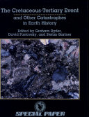 The Cretaceous-Tertiary Event and Other Catastrophes in Earth History ebook