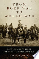 From Boer War To World War