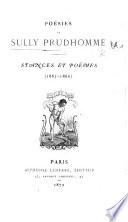 Stances Et Poëmes Sully Prudhomme Google Libros