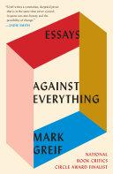 Against Everything Pdf/ePub eBook