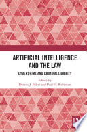 Artificial Intelligence and the Law