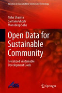 Open Data for Sustainable Community