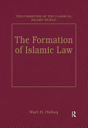 Pdf The Formation of Islamic Law Telecharger