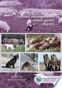 Genomic management of animal genetic diversity