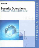 SECURITY OPERATIONS GUIDE FOR MICROSOFT WINDOWS 20