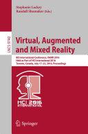 Virtual, Augmented and Mixed Reality Pdf