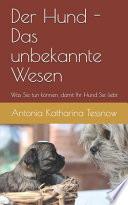Der Hund - das unbekannte Wesen - was Sie tun können, damit Ihr Hund Sie liebt