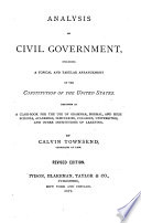 Analysis of Civil Government