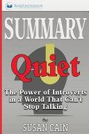 Summary   Quiet Book