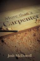 More Than a Carpenter  Pack of 25  Book PDF