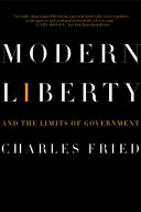 Pdf Modern Liberty: And the Limits of Government (Issues of Our Time)