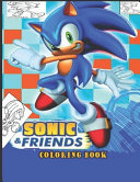 Sonic   Friends Coloring Book