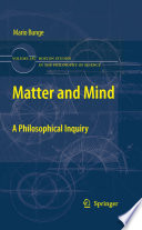 """""""Matter and Mind: A Philosophical Inquiry"""" by Mario Bunge"""