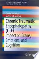 Chronic Traumatic Encephalopathy  CTE