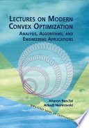 Lectures on Modern Convex Optimization