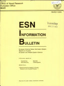 ESN Information Bulletin