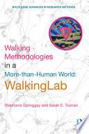 Walking Methodologies in a More than human World