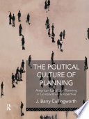 The Political Culture Of Planning