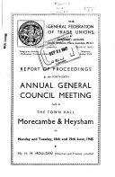 Report Of Proceedings At Annual Meeting