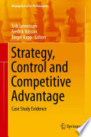 Strategy Control And Competitive Advantage