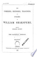 The Comedies, Histories, Tragedies, and Poems of Wm. Shakspere