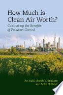 How Much Is Clean Air Worth  Book