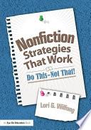 Nonfiction Strategies That Work Book PDF
