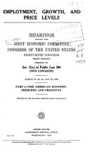 Hearings, Reports and Prints of the Joint Economic Committee ebook