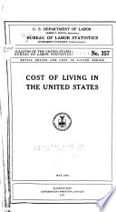 Retail prices and cost of living series