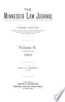 The Minnesota Law Journal
