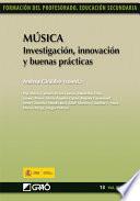 Música. Investigación, innovación y buenas prácticas