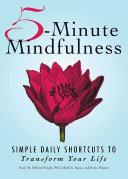 5 Minute Mindfulness