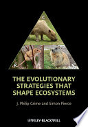 The Evolutionary Strategies that Shape Ecosystems