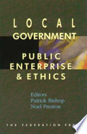 Local Government, Public Enterprise and Ethics