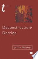 Deconstruction   Derrida