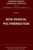 Non radical Polymerisation