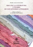 Idea de la Literatura y teoría de los Géneros literarios