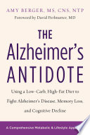 The Alzheimer s Antidote Book