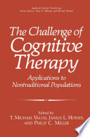The Challenge of Cognitive Therapy
