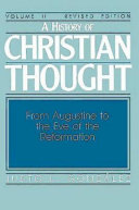 A History of Christian Thought Volume II