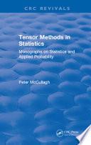 Tensor Methods in Statistics