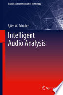 Intelligent Audio Analysis Book PDF