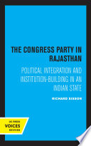 The Congress Party in Rajasthan