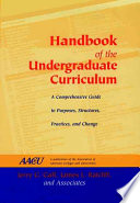 Handbook of the undergraduate curriculum