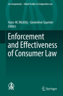Enforcement and Effectiveness of Consumer Law