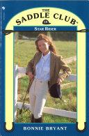 Saddle Club Book 19  Star Rider