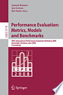 Performance Evaluation  Metrics  Models and Benchmarks