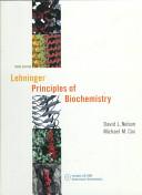 Lehninger Principles of Biochemistry Book PDF