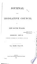 Journal of the Legislative Council