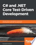 C And Net Core Test Driven Development